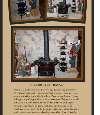 SWEET CABIN COOKING cast iron cookware
